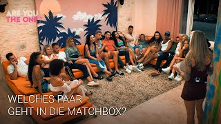 "Welches Paar geht in die ""Matchbox""? 