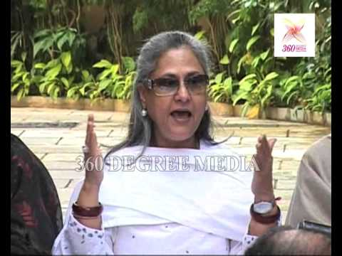 Jaya Bachchan talks about the initiatives taken by her family to protect the girl child