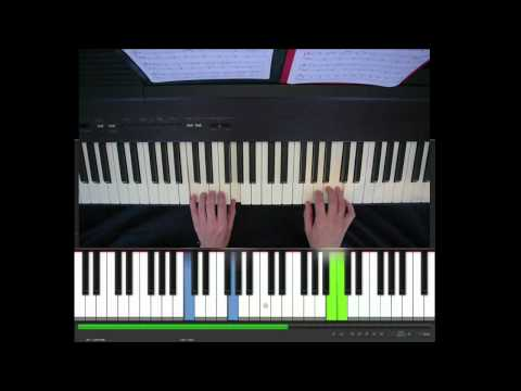 Someone Like You, Adele, easy piano piece in C, tutorial