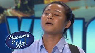 Myanmar Idol 2016 | Saw Lar Htaw War | Yangon Auditions