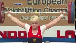 2012 European Championships Women 75 Kg