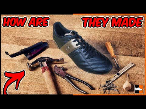 How Do You Make Football Boots? Making Soccer Cleats!