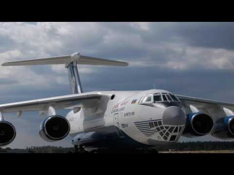 Ukraine completed refurbishment of Angola's Il-76 military transport aircraft