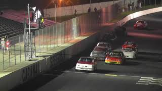 ministock race caraway speedway first race in #76 car part 1