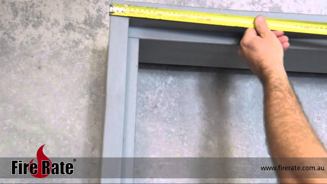 Measure Door Frame \u0026 Measuring Double Entry Doors\