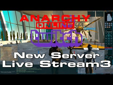 Anarchy Online –  NEW SERVER – LIVE STREAM 3 [April -3-2019]