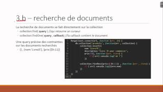 Node JS avec MongoDB et Express : application de REST