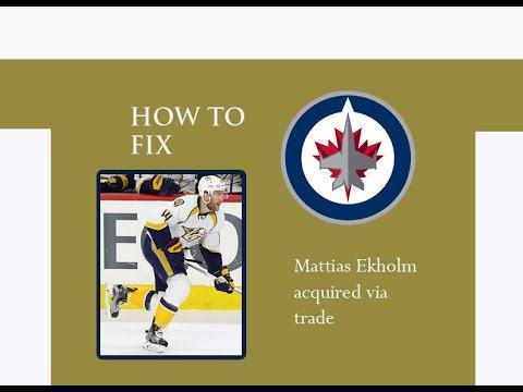 HOW TO FIX: WINNIPEG JETS