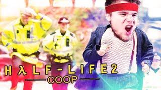 UCIEKAMY PRZED POLSKĄ POLICJĄ! | Half-Life 2: Coop [#3] /Synergy Mod (W: Dobrodziej)