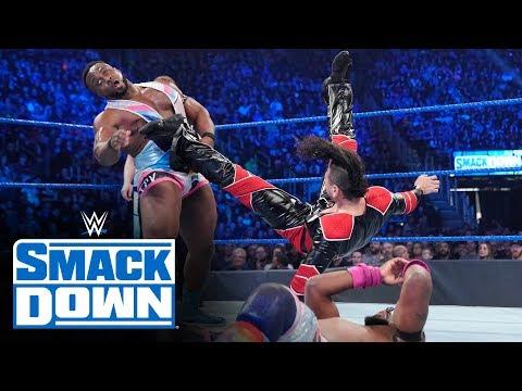 Braun Strowman & The New Day vs. Shinsuke Nakamura, Cesaro & Sami Zayn: SmackDown, Dec. 27, 2019