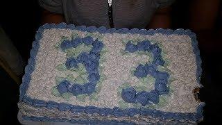 Украшение торта на 33 года. для мужчины