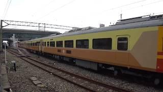 6126A次迴送列車通過斗六車站