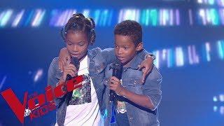 MC Solaar - Sonotone  | Lucas et Nathan |  The Voice Kids France 2019 | Blind Audition - the voice france 2021 jury