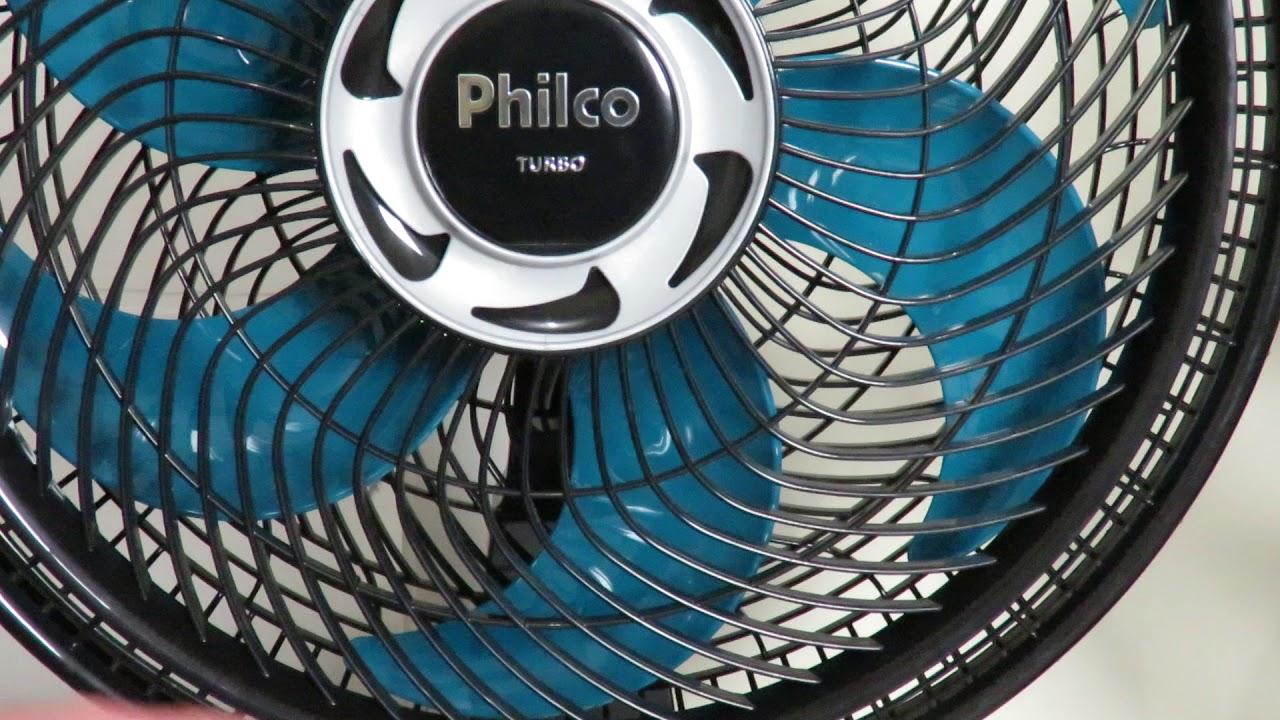 891092792 Confronto Ventilador Philco Turbo PVT400 AZ Turbo 40cm 155w vs Mondial Turbo  Force 8 140w Velocidade
