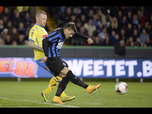 2014-2015 - Club Brugge - VC Westerlo - GOAL Nicolas Castillo
