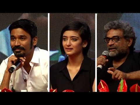 Dhanush is the first person to get Amitabh\'s voice: Balki | Shamitabh Press Meet