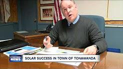 Solar success in town of tonawanda