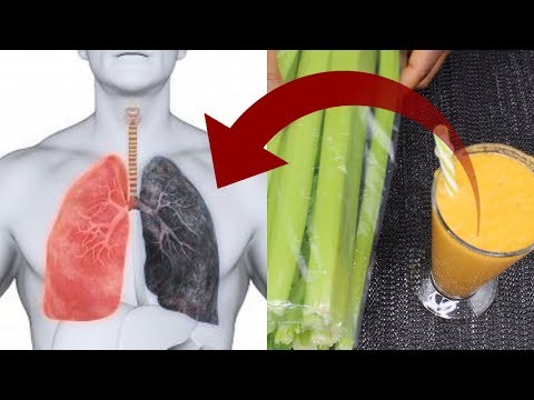 How to cleanse Smokers Lungs Naturally in one Day / DETOX YOUR LUNGS