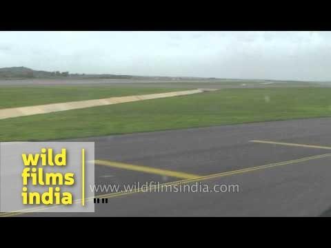 Flight approaches Rajiv Gandhi International Airport, Hyderabad