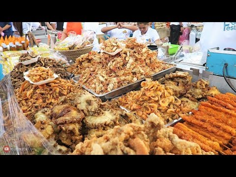 Philippines Street Food Festival 2018 at SM Mall of Asia | TONS of STREET FOOD!