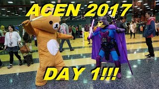 ANIME CENTRAL BABY!!! | ACEN 2017 DAY 1 VLOG!!!