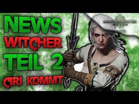 News Witcher Crossover Teil 2 - Ciri kommt - Alle Infos - Monster Hunter World Deutsch thumbnail