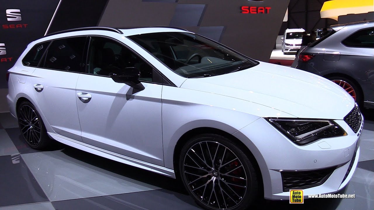 2015 seat leon st cupra exterior and interior walkaround. Black Bedroom Furniture Sets. Home Design Ideas