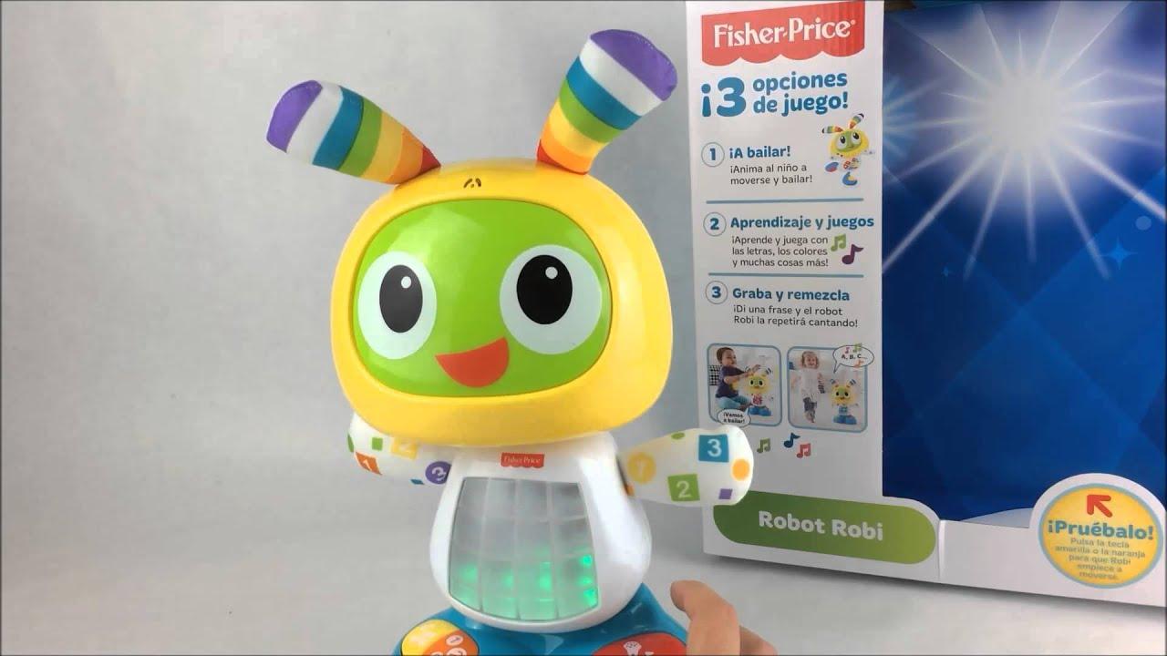 robot robi fisher price regalo navidad juguete educativo. Black Bedroom Furniture Sets. Home Design Ideas