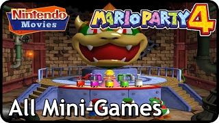 Mario Party 4 - All Mini-Games