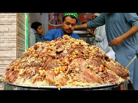 Zaiqa Chawal - Qissa Khwani Street Food Peshawar | Zaiqa Beef Pulao | Zaiqa Beef Chawal | Zaiqa Rice