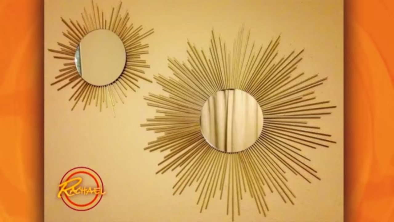 DIY Starburst Mirror - YouTube