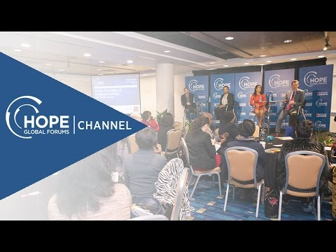 HOPE Global Forums 2016 - Youth, Innovation & Entrepreneurship