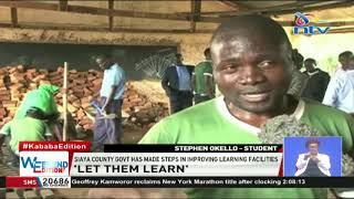 Siaya county government makes steps in improving learning facilities