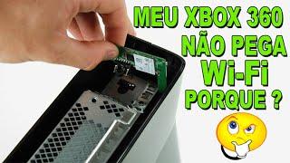 PORQUE  MEU XBOX 360 NÃO PEGA O WIFI - RGH