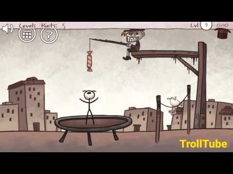 Troll Face Quest Classic Level 6 7 8 9 10 Solutions