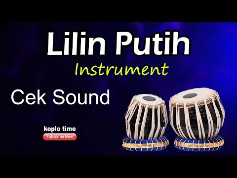 Lilin Putih Cek Sound  (Instrument)