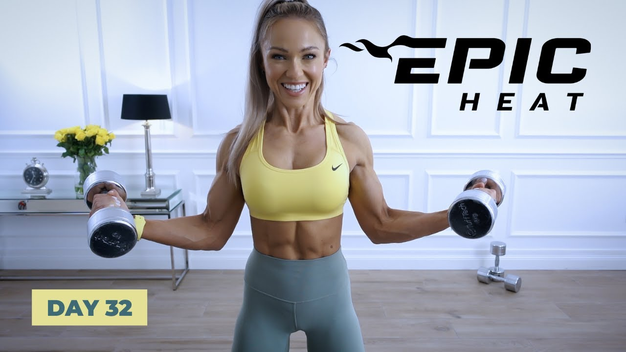 GIANT KILLER Upper Body Workout - Arms, Chest, Back, Shoulders   EPIC Heat - Day 32