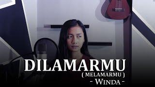 Download lagu DILAMARMU (MELAMARMU) -  BADAI ROMANTIC PROJECT COVER WINDA ANGGRAENI || PUTRA STUDIO OFFICIAL