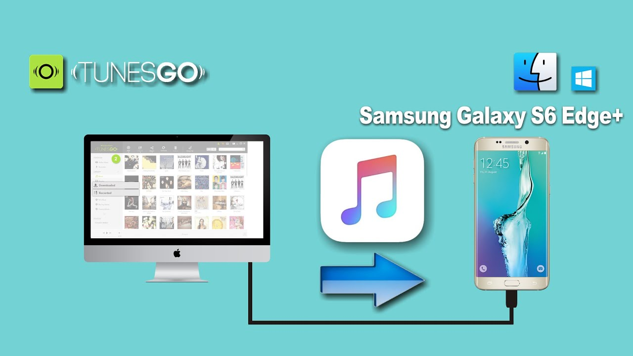How To Transfer Songs From Mac To Samsung Galaxy S Edge Plus Music From Pc To S Edge