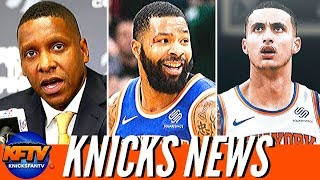 New York Knicks News: Masai Wants The Knicks?!| Mook Says Goodbye, Is Kuzma On The Way?!
