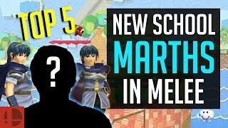 Smash Melee Top 5  - New School Marth Mains   SSBM