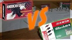 Federal American Eagle Vs S&B Club |.22LR| |Expensive Vs Budget ammo|