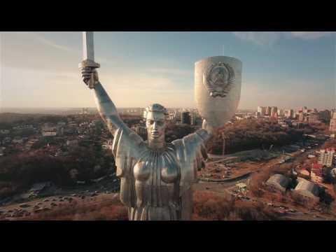 AERIAL VIDEO FROM KIEV.