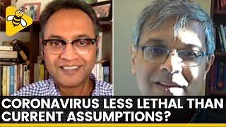 Is COVID-19 Less Lethal Than Expected? | DataBaaz | Govindraj Ethiraj & Jay Bhattacharya