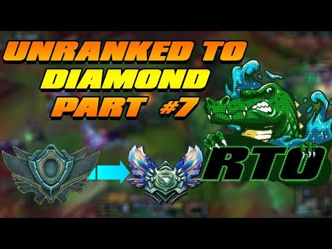 Renekton Only Unranked To Diamond Part #7 | 10,000 Twitch Followers