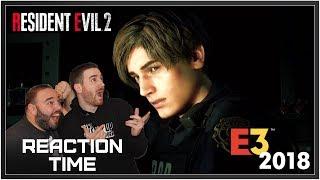 Resident Evil 2 Remake Trailer - Reaction Time!