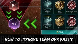 HOW TO IMPROVE TEAM OVR FAST IN FIFA MOBILE 18? YOUR GUIDE TO HIGHER OVERALL!