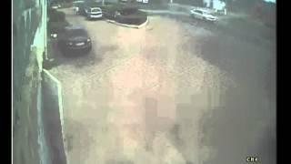 Видео с места ДТП ул. Пожарова Севастополь 27.05.2014