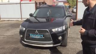 Установка ДХО на Mitsubishi Outlander
