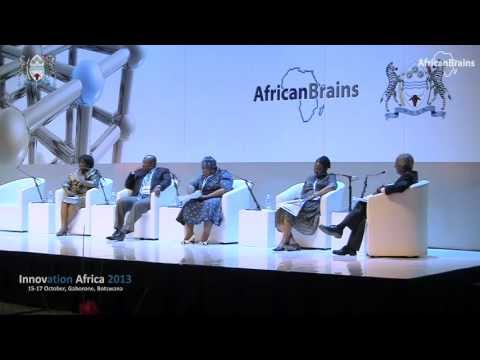 Innovation Africa 2013 - Opening Panel Discussion Chaired by HP, Gaborone, Botswana